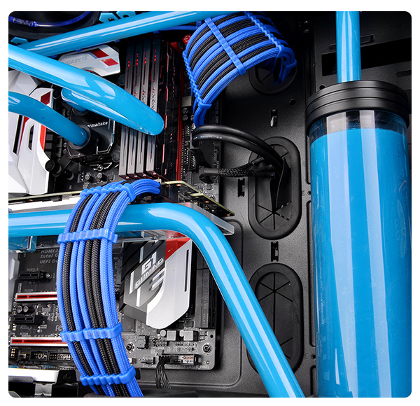 Enjoyable Ttmod Sleeve Cable Blue And Black Wiring Digital Resources Indicompassionincorg