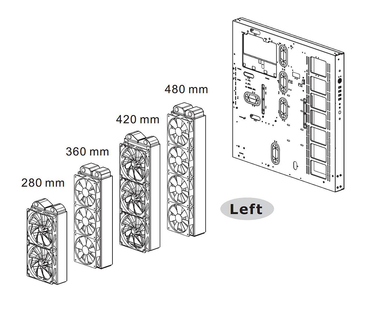 Case Thermaltake Core P5 TG V2 Black Edition
