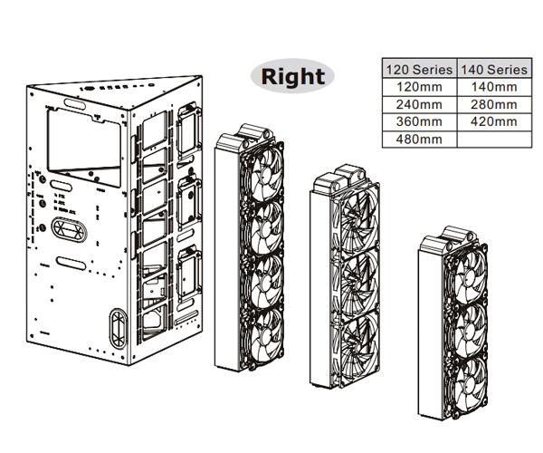 Case Thermaltake Core P90 Tempered Glass Edition