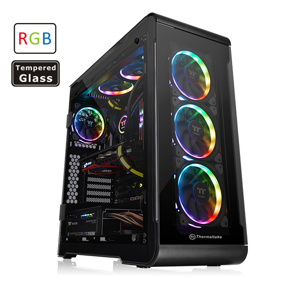 View 32 Tempered Glass RGB Edition