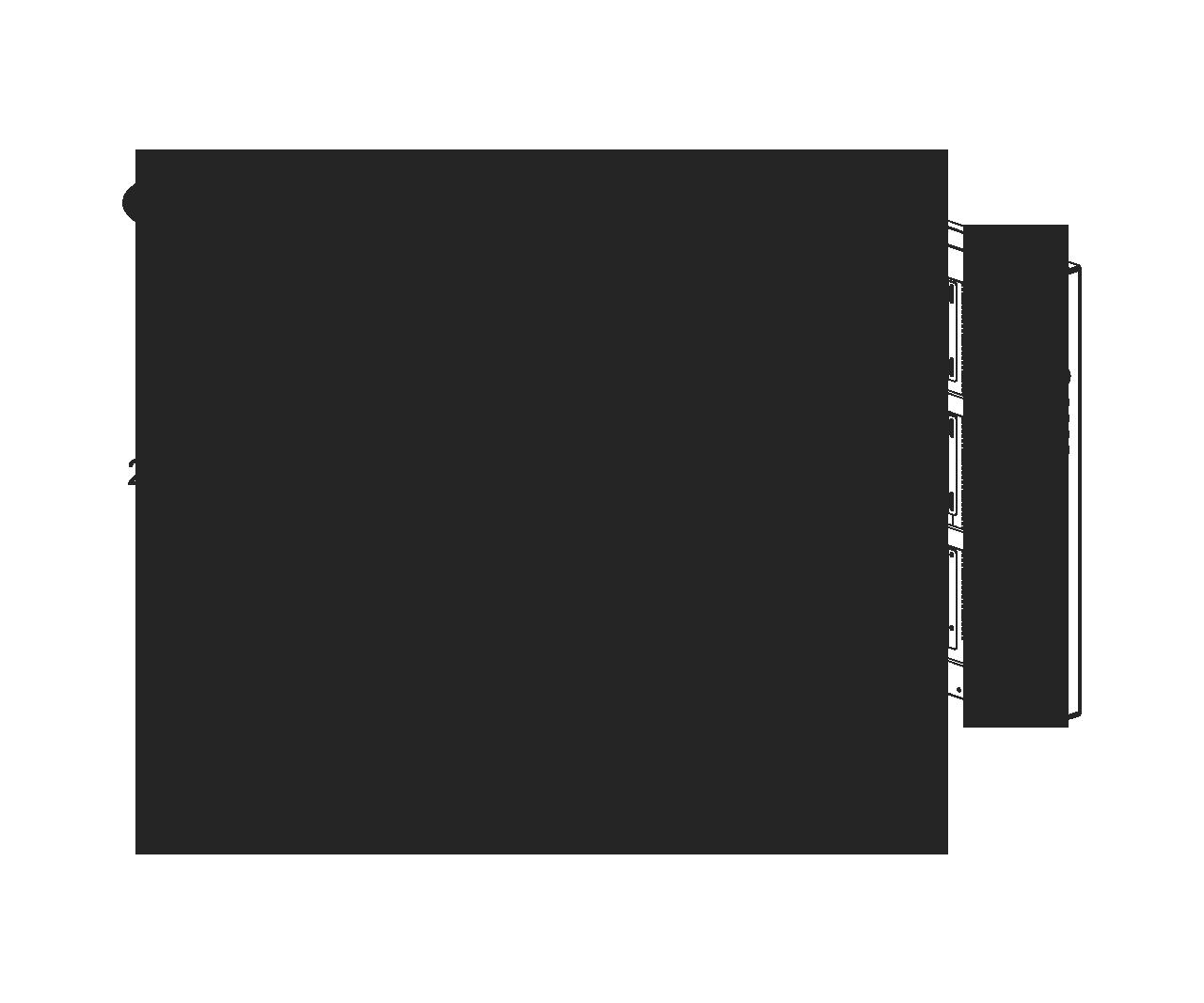 Case Thermaltake Core P3 Tempered Glass Edition