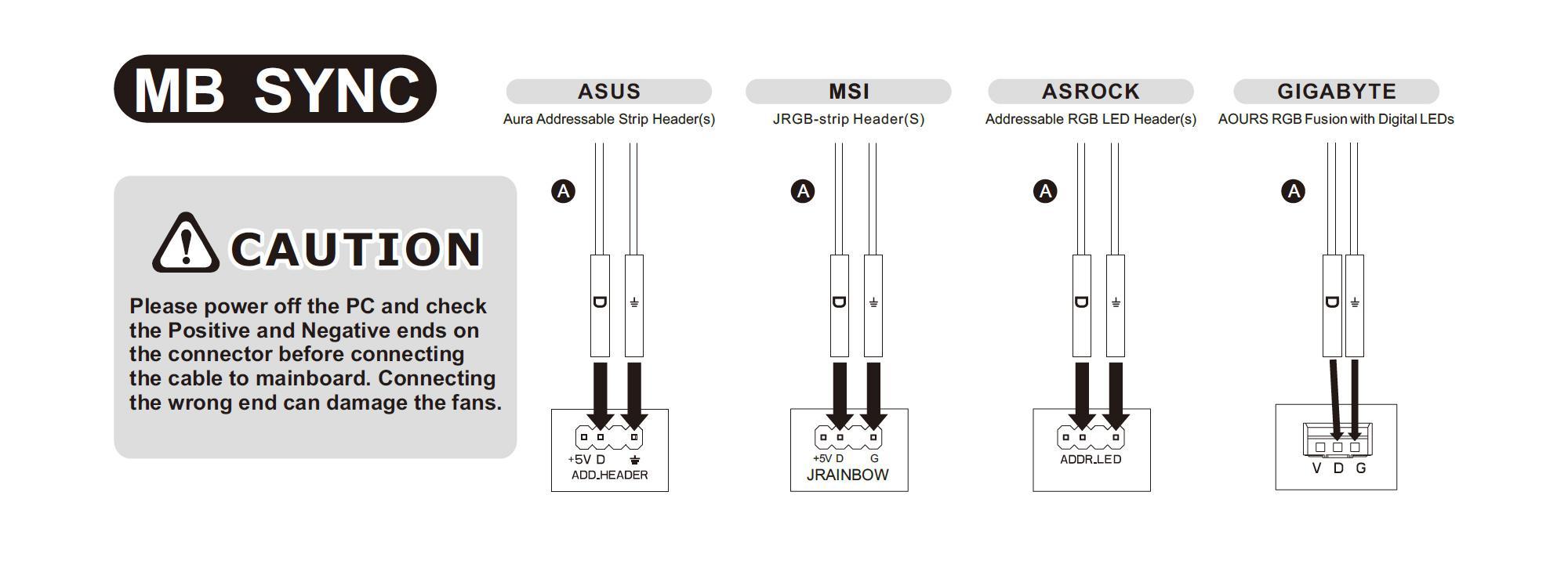 UX100 ARGB Lighting CPU Cooler