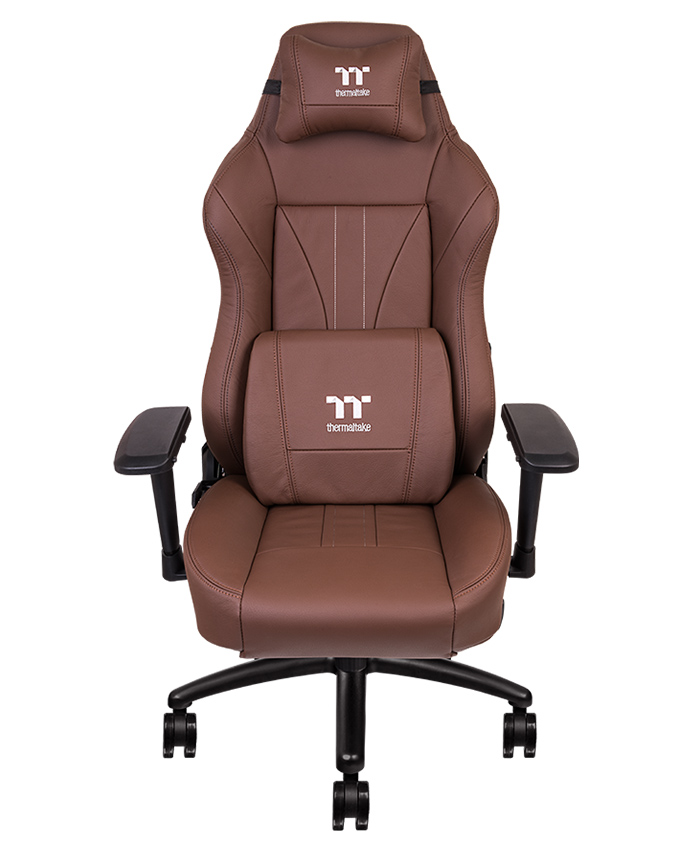 X Comfort Real Leather Brown, Real Leather Office Chair